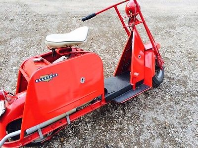 Cushman : step Thru 1952 cushman allstate step thru scooter very nice org condition