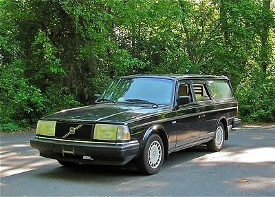 Volvo : 240 Classic Wagon Lots of Work Just Done!  Cold AC  92 volvo 240 wagon long list of new parts cold ac rust free 57 pics
