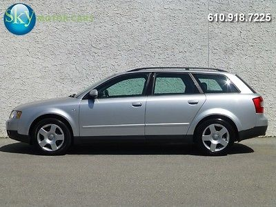 Audi : A4 1.8T Quattro 33 370 msrp quattro awd avant wagon sunroof bose premium package 16 s 1 owner