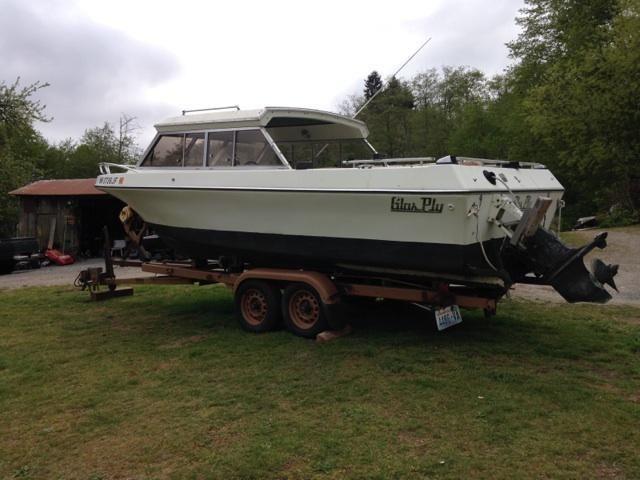 glasply Boat