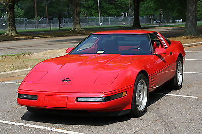 Chevrolet : Corvette Targa Top 1992 corvette 47 000 original miles