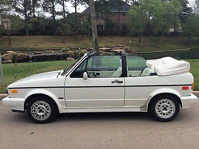 Volkswagen : Cabrio Volkswagen Golf Cabriolet Volkswagen Golf Cabriolet 1989 ONLY 25750 Original Miles! perfect condition..