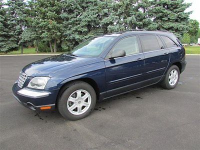 Chrysler : Pacifica 4dr Wagon Touring AWD 4 dr wagon touring awd automatic gasoline 3.5 l v 6 cyl blue