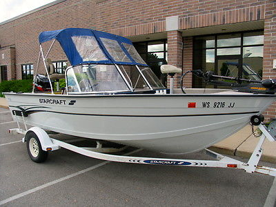 Starcraft 176 Fisherman Incredible 1 Owner Condition Boats For Sale In Wisconsin