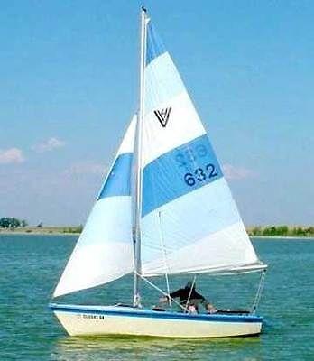 Hobie Hunter HOLDER VAGABOND 14' Sailboat 14 foot sail boat