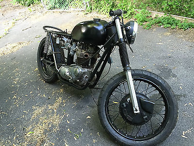 Triumph : Bonneville 1972 triumph bonneville 650 tr 6 t 120 r cafe racer project