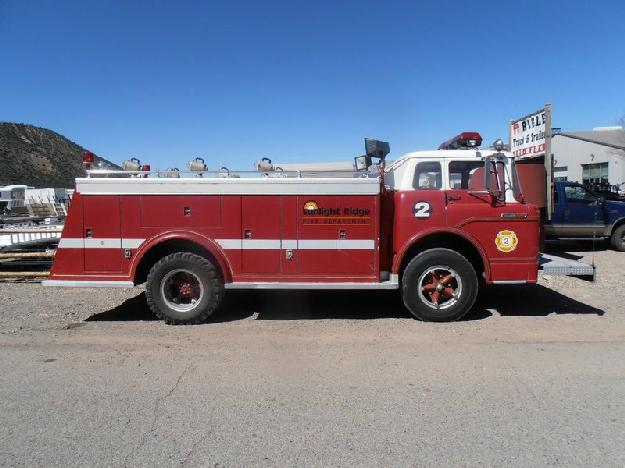 4494 - 1970 ford big red, fire truck