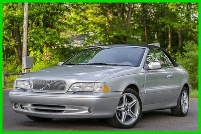 Volvo : C70 HT 2001 volvo c 70 convertible 5 speed manual hight pressure turbo southern carfax