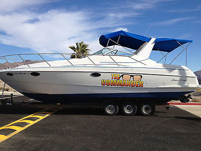 35' Chris Craft 302 Crowne Cruiser for Sale with 16Ton HydroHoist included