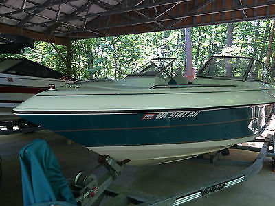 1994 20' Regal Valanti 202SE Teal/White Boat and Trailer **CRACKED BLOCK**