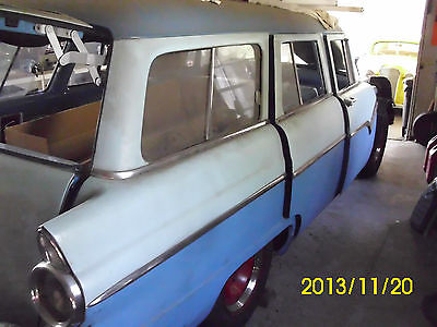 Ford : Other 4 Door 1955 ford station wagon