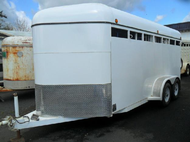1999 Morgan Built 3 Horse Trailer