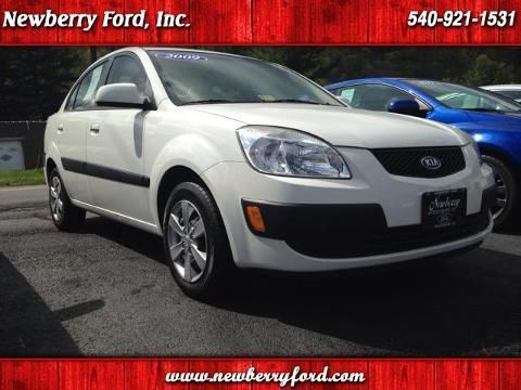 2009 KIA RIO 4 DOOR SEDAN