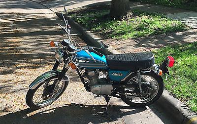 Honda : CB 1975 honda cb 125 s
