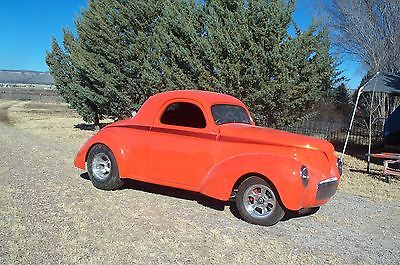 Willys DELUXE COUPE 2 DR 1941 willys coupe