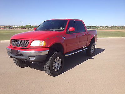 Ford : F-150 Lariat Fx4 Lariat Fx4 Lifted Super-Crew Cab 4x4