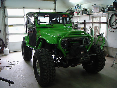 Toyota : Land Cruiser 4x4 modified 4 x 4 off road and rockcrawler