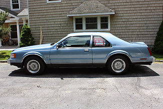 Lincoln : Mark Series VII LSC 1990 lincoln mark vii lsc profile 2 door coupe 2 nd owner 5.0 ho 58 300 miles