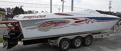 2003 Baja 33 Outlaw SST boat $15k Below Book! Nicer than Founatin boat or Donzi