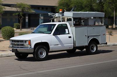 Chevrolet : C/K Pickup 3500 MONEY BACK GUARANTEE 1999 chevrolet c 3500 utility generator compressor work truck inspected in ad