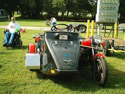 Custom Built Motorcycles : Other 1977 hondamatic 750 cc w handicap sidecar for wheelchair