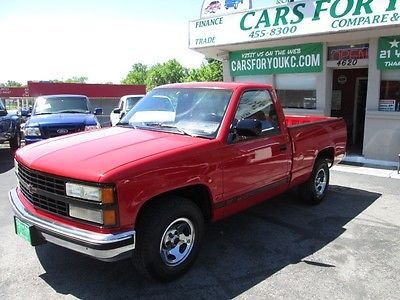 Chevrolet : C/K Pickup 1500 SILVERADO 1500 CHEVY SHORTBED, ONE OWNER, LOW MILES, ALL ORIGINAL!