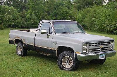 Chevrolet : C/K Pickup 1500 Silverado K10 1985 chevy silverado k 10