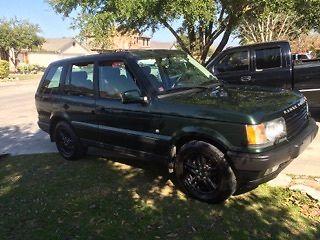 Land Rover : Range Rover SE 2001 range rover 4.6 liter se