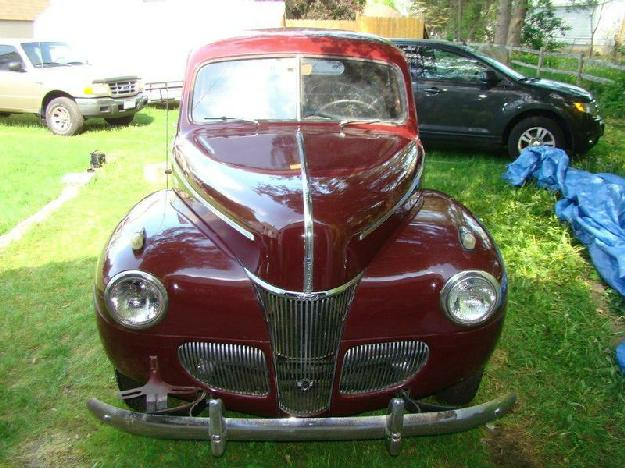 1941 Ford Deluxe Bussinessman's Coupe for: $18000