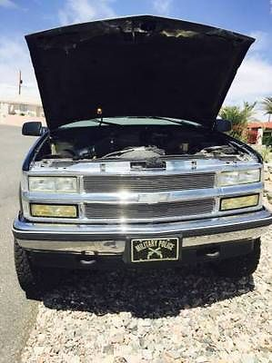 Chevrolet : Tahoe LT Sport Utility 2-Door 1997 chevrolet tahoe 2 dr desert truck perfect daily driver