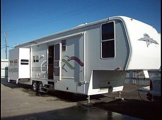 2000 Alfa Ideal 34RLTBS 262 34ft Fifth Wheel, 3 Slide Outs, Great Condition!
