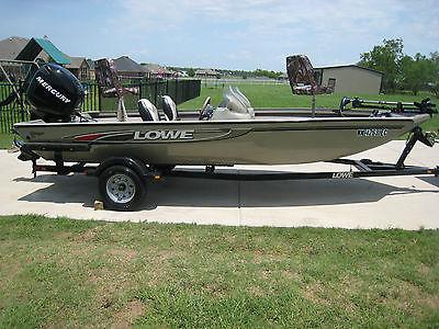 2006 Lowe Stinger 170 Rare Dual Console W/75hp Optimax Nice Boat