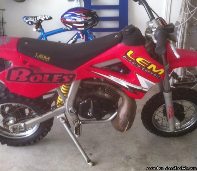 KIDS 50 KTM MOTORCYCLE