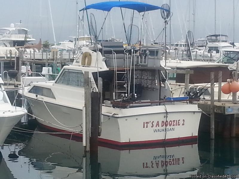 $8000 Lake Michigan Fishing Boat