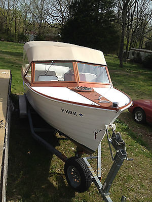 1960 23' Chris Craft Sea Skiff rebuit 283 very solid needs cosmetics wooden boat