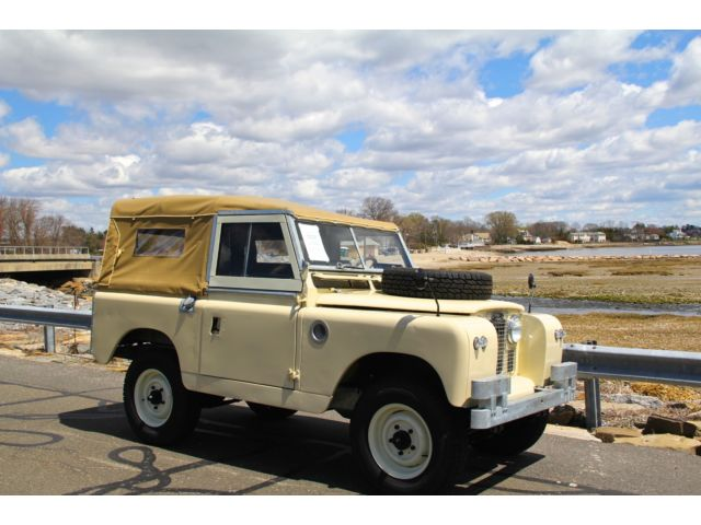 Land Rover : Other SERIES IIa 1967 land rover series iia 88 inch restored to better then new condition