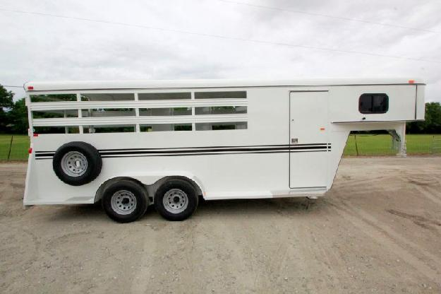 2015 Dixie Tuff Horse Trailer For Sale