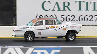 Ford : Fairlane victoria 55 ford gasser 430 lincoln powered old skool