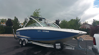 2006 Mastercraft X80 28' Twin Engine Power Boat & 2009 Honda Aquatrax Jet Skis