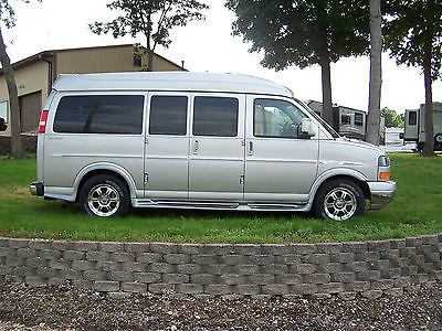GMC : Savana CONVERSION 2010 gmc savana conversion van explorer package limited high top