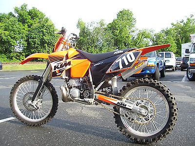 KTM : SX 2003 ktm 250 sx 2 stroke race bike 57 hp super low hours