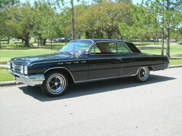 Buick : Electra 225 Hardtop 1962 buick electra 225 clean and original factory a c leather interior