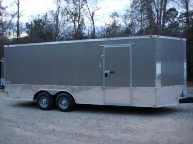 8.5ft X 20ft Enclosed Freedom Car amp amp Cargo Trailer