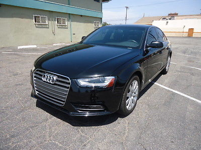 Audi : A4 A4  Audi 2013 A4 primium 4-Door Black Sedan Excellent condition