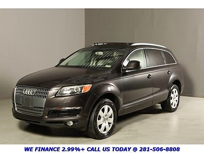 Audi : Q7 2007 PREMIUM PANOROOF 7PASS LEATHER HEATSEAT XENON 2007 q 7 3.6 l v 6 premium panoroof 7 pass leather heatseat xenons bose 3 rd row