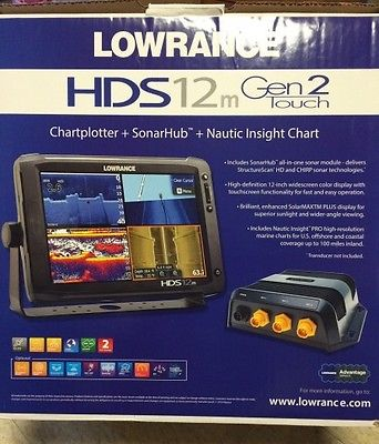 Lowrance HDS- 12 TOUCH