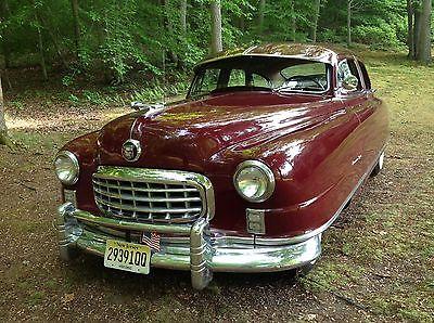 Nash : Sedan Standard 1950 nash ambassador super