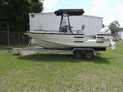 1999 Boston Whaler Justice 21' Commerical Hull  w/ Dive Door