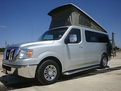 1Owner Roadtrek N6 Active Nav 6 Pop-top SUV Camper Van Warranty Westfalia