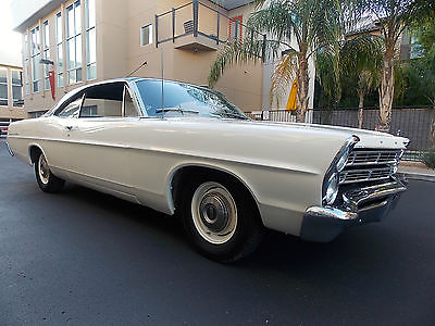 Ford : Galaxie 2 Door Coupe 1967 ford galaxie 500 fastback